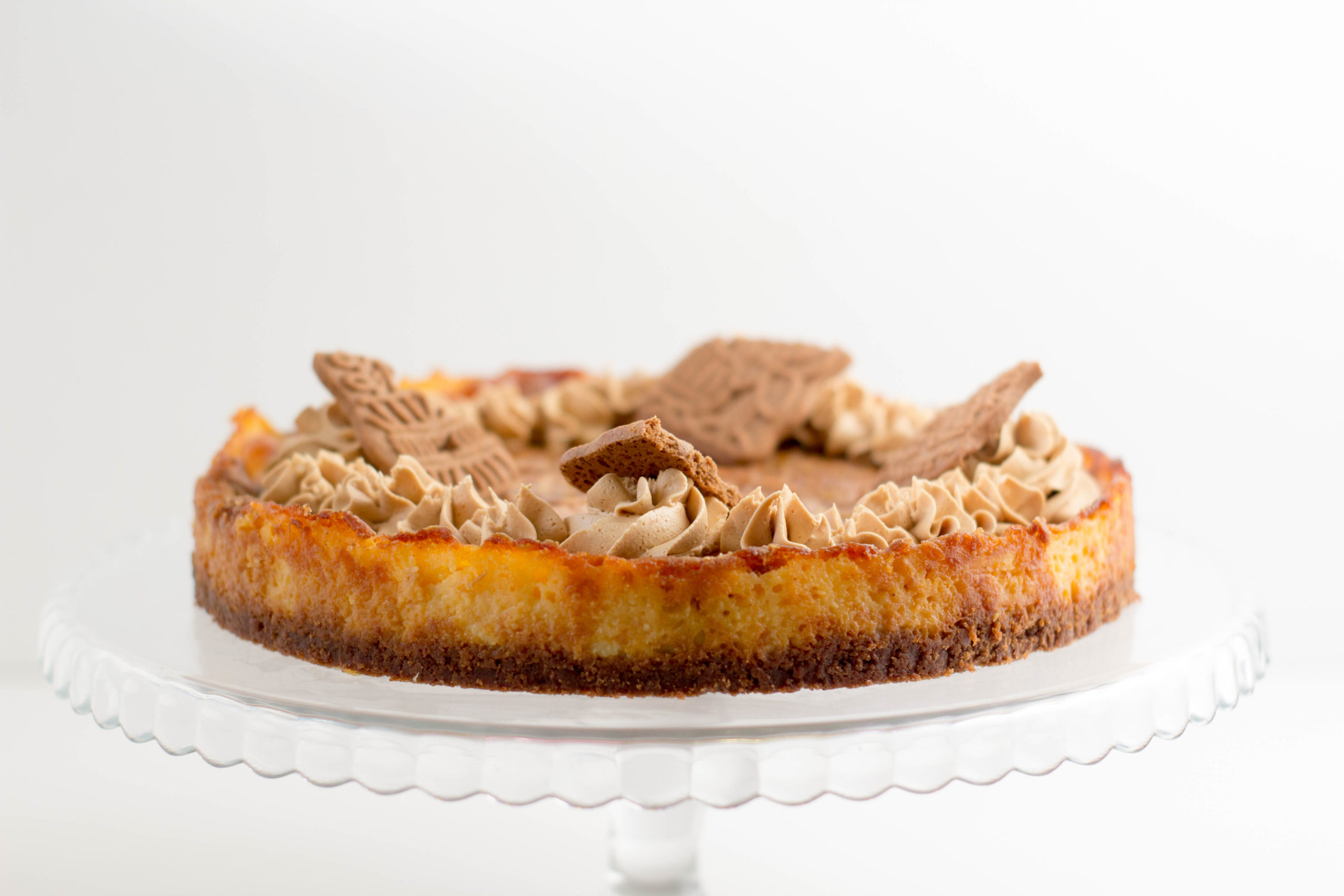 Speculoos cheesecake
