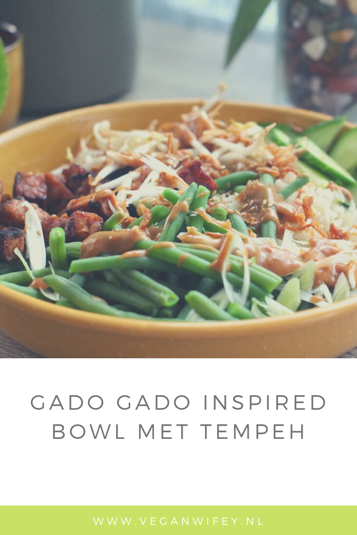 Gado gado inspired bowl